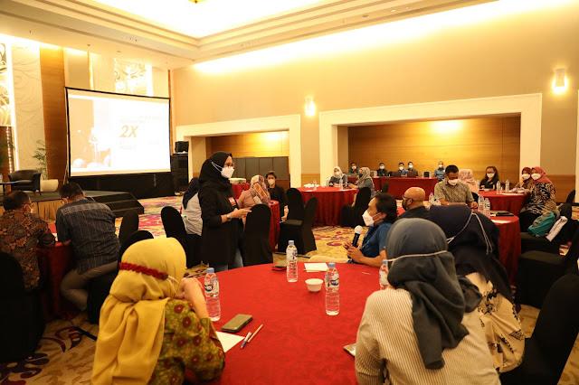 Sebanyak 24 Orang Pegawai BP Batam Mengikuti  Pelatihan Public Speaking