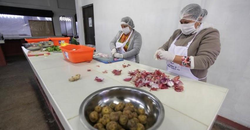 QALI WARMA: Medidas del Gobierno han permitido que más de 5,000 comedores retomen la atención a personas en situación de vulnerabilidad - www.qaliwarma.gob.pe