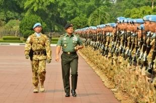 Sebanyak 1.169 Prajurit TNI Telah Tiba di Indonesia Selepas Laksanakan Misi Perdamaian di Lebanon - Commando
