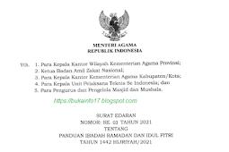 Panduan Ibadah Ramadhan 2021 Tahun 1442  Hijriyah