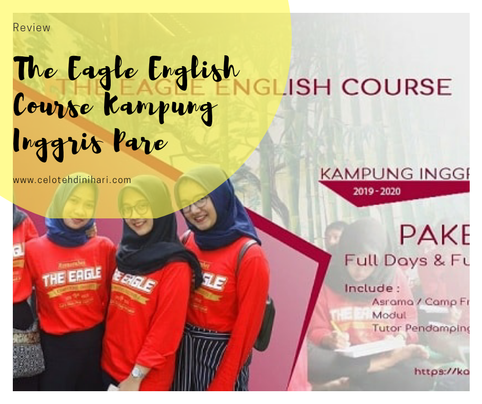 Review The Eagle English Course Kampung Inggris Pare
