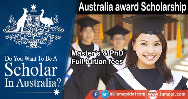 Beasiswa Australia Award 2021 - 2022