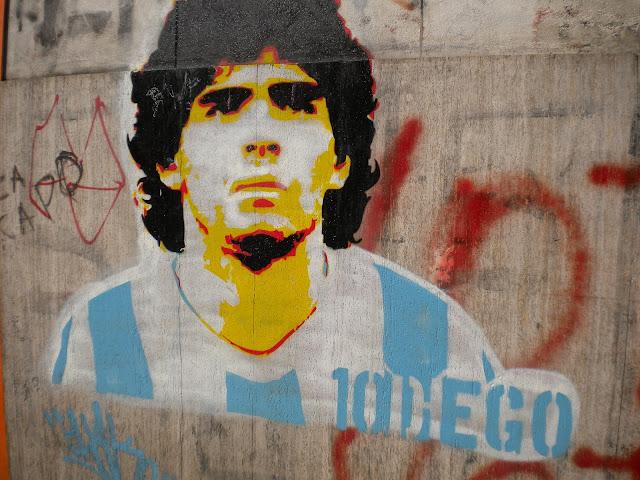 أسطورة مارادونا في كرة القدم