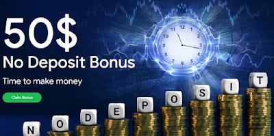 $50 No deposit bonus