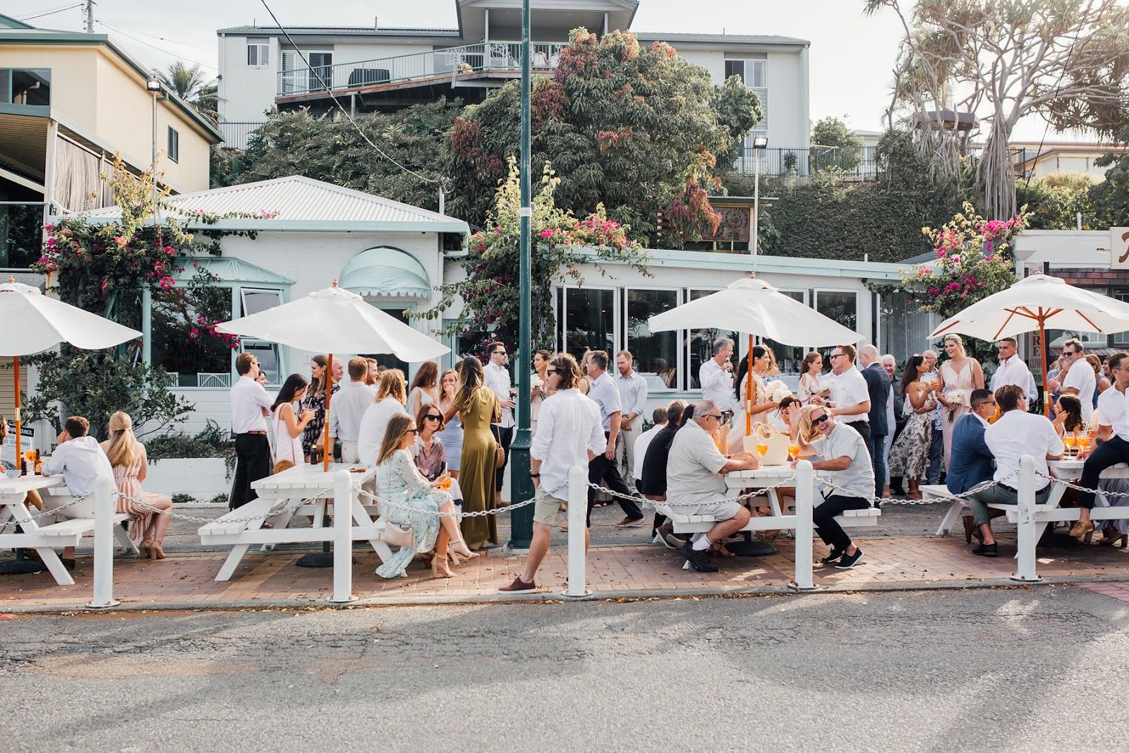 Q+A: TAVERNA KINGSCLIFF | BEACHFRONT WEDDING VENUE NSW