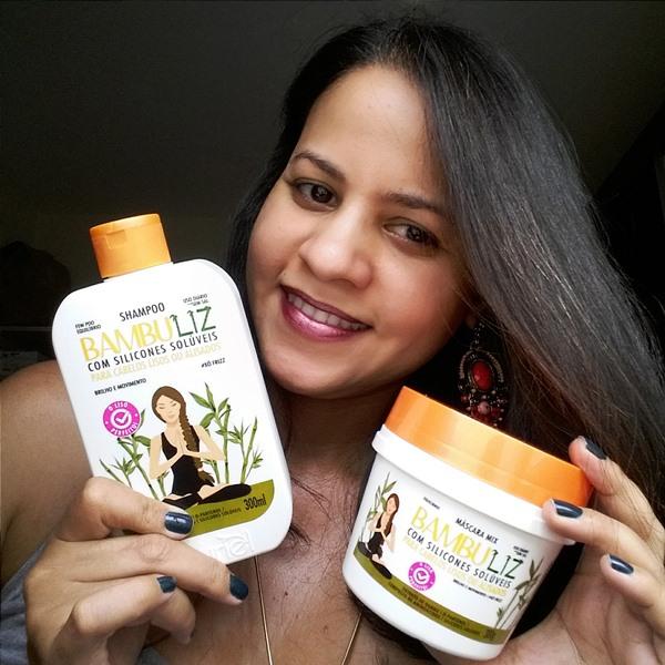 Produtos para cabelo: Linha Bambuliz da Nova Muriel
