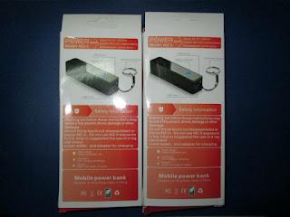 Powerbank Murah MZ-5 Model Gantungan Kunci 3000mAh