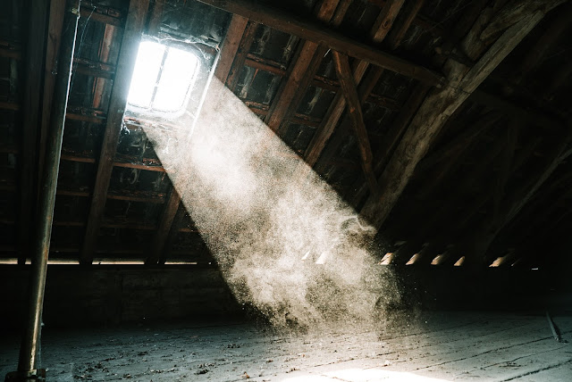 Attic.Photo by Mika Baumeister on Unsplash