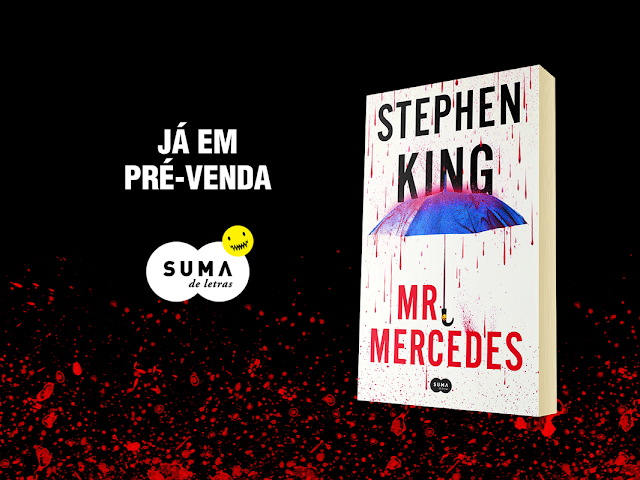 O novo livro de Stephen King, Mr. Mercedes