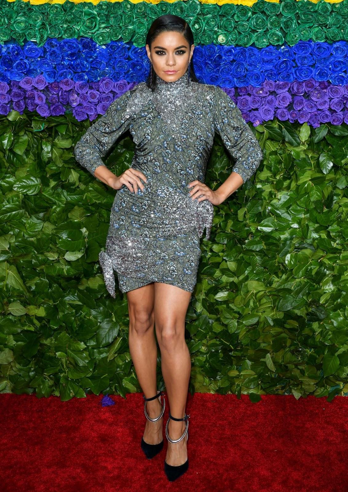 Vanessa Hudgens – 73rd Annual Tony Awards at Radio City Music Hall in New York