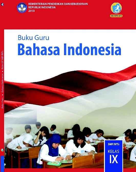 Buku Bahasa Indonesia Kelas 9 - Buku Guru