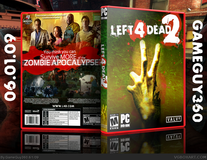 Download Left 4 Dead 2 Highly Compressed 1 6 GB With Multiplayer
