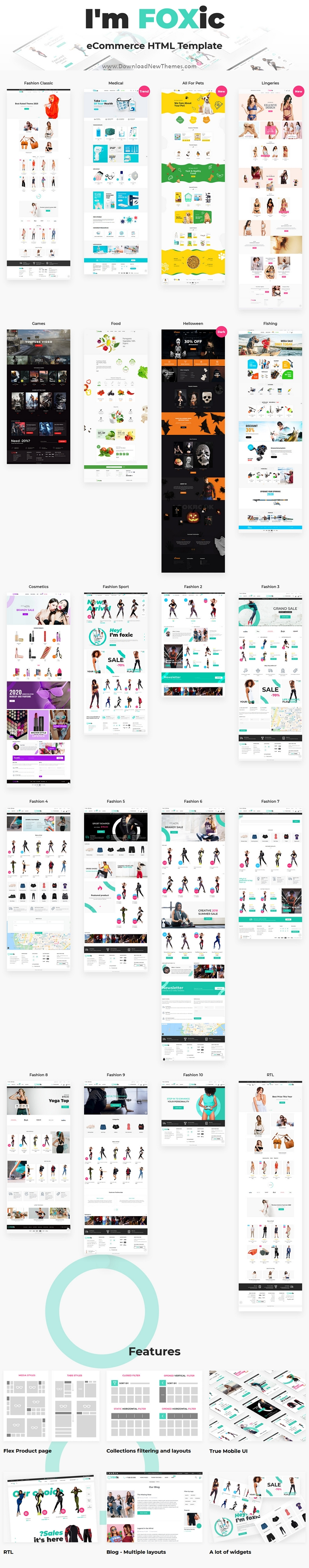 Multipurpose eCommerce Bootstrap Template