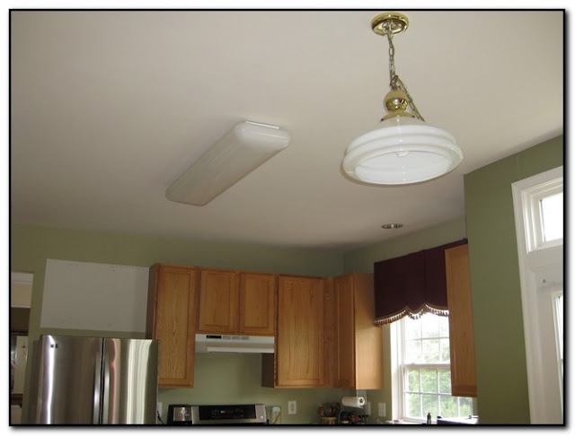 Replace Fluorescent Light Fixture In Kitchen Design Home Kitchen - Replace fluorescent light fixture in kitchen