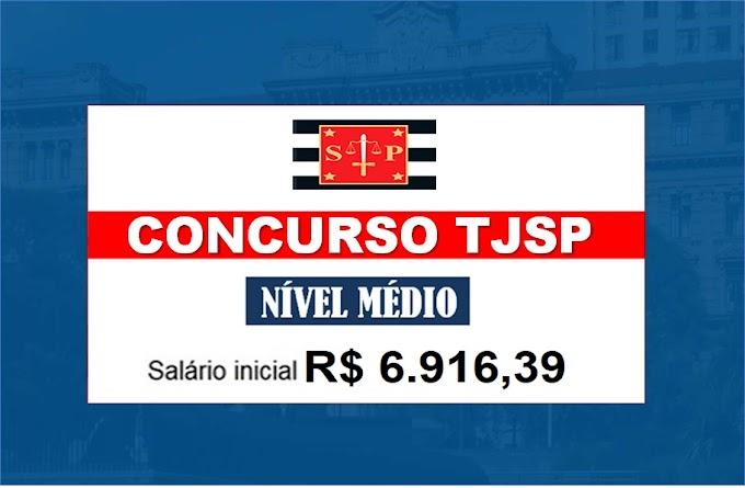 Concurso TJ SP 2021: edital para nível médio até junho pela VUNESP. Saiba Mais