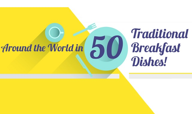 Around the World in 50 Traditional Breakfast Dishes