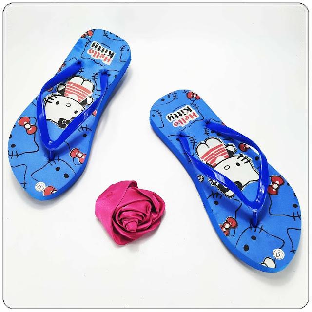 Sandal AB Sablon HK Wanita Termurah Langsung Dari Pabrik 085860854424