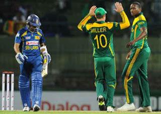 Sri Lanka vs South Africa 3rd ODI 2013 Highlights