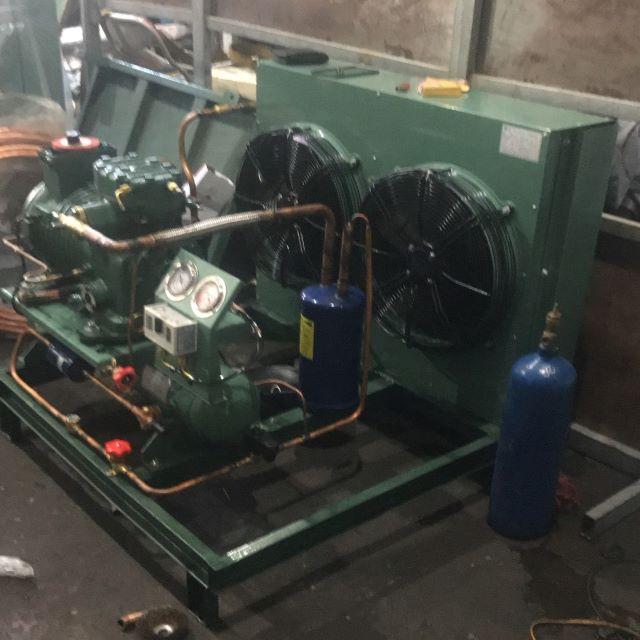 Trình điện lạnh - Cụm máy kho lạnh Sanyo 5HP
