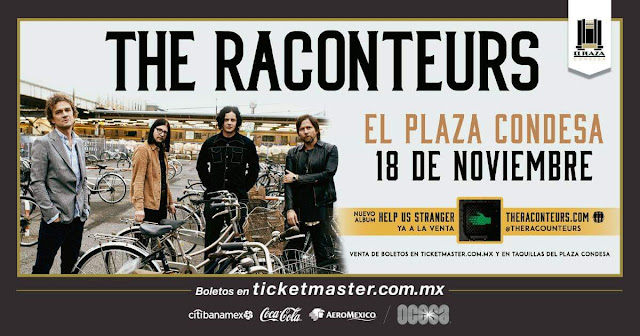 The Raconteurs en Plaza Condesa