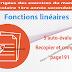S'auto-évaluer Recopier et Compléter page 191 - Fonctions linéaires