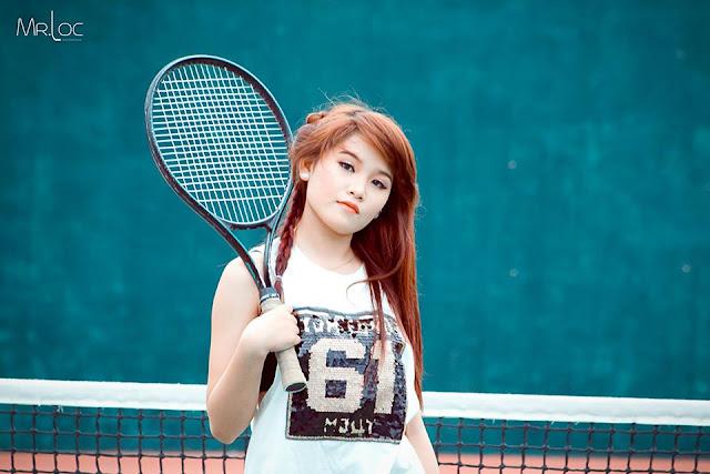 Quần vợt thể thao với tôi