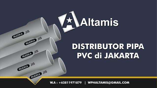 Distributor Pipa PVC di Jakarta