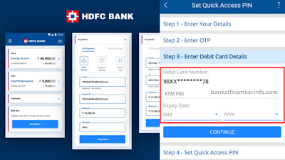 Enter OTP and Debit card details to verified