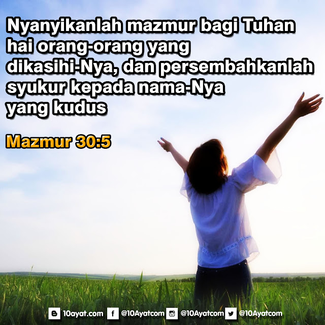 Mazmur 30:5