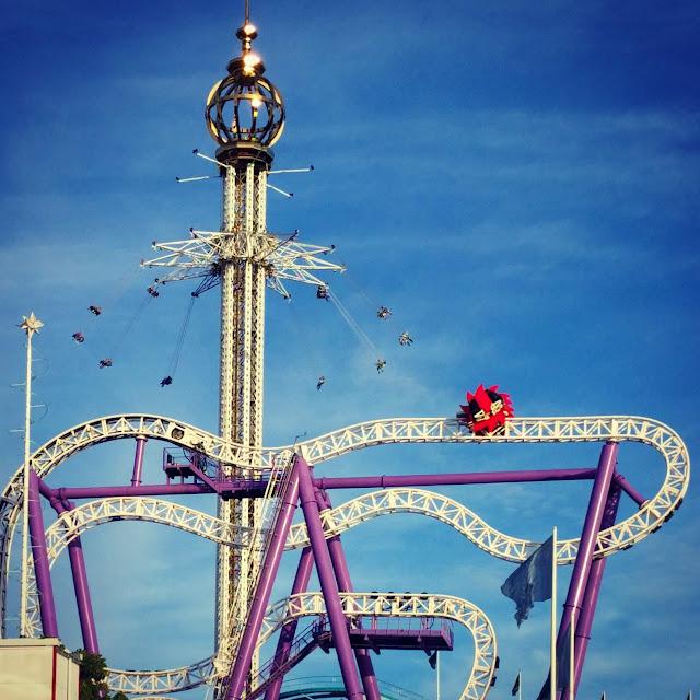 Gröna Lund amusement park in Stockholm