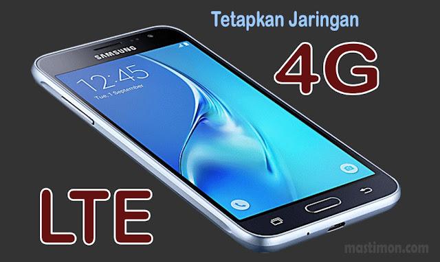 Cara tetapkan Sinyal 4G LTE di Samsung J3 dengan Kode Khusus