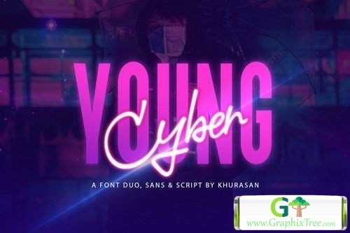 Young Cyber Duo [Font]