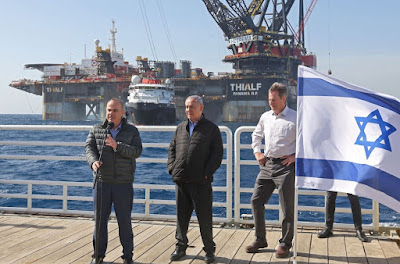 Israel exporta gás natural