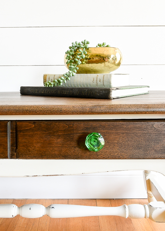 How to refinish a solid wood coffee table