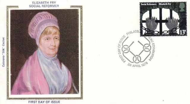 Great Britain Social Reform Elizabeth Fry - Prison Reform FDC