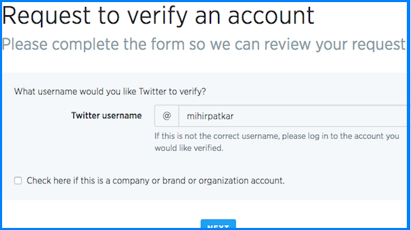 How to Get a Verified Twitter Account