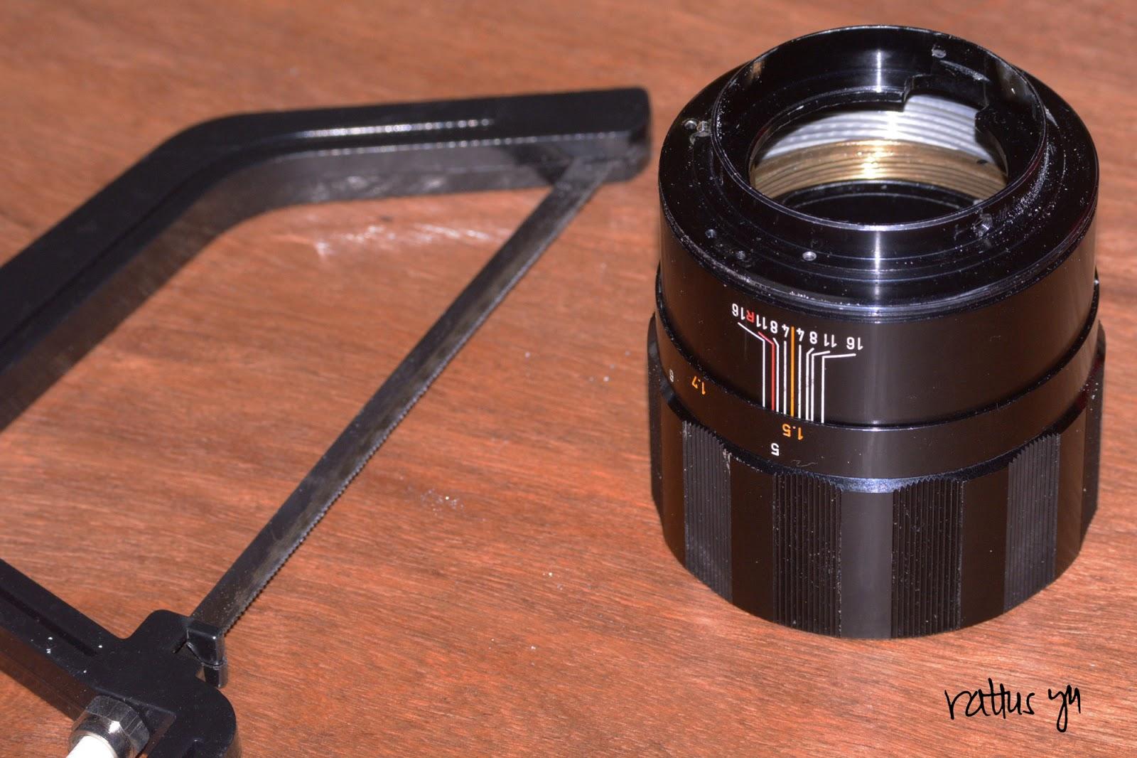 Canon FL 135mm f/2.5, Conversion to Nikon F Mount