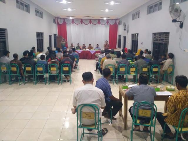 Babinsa Cawas hadiri Musdes APBDes Perubahan Tahap III Tahun 2019