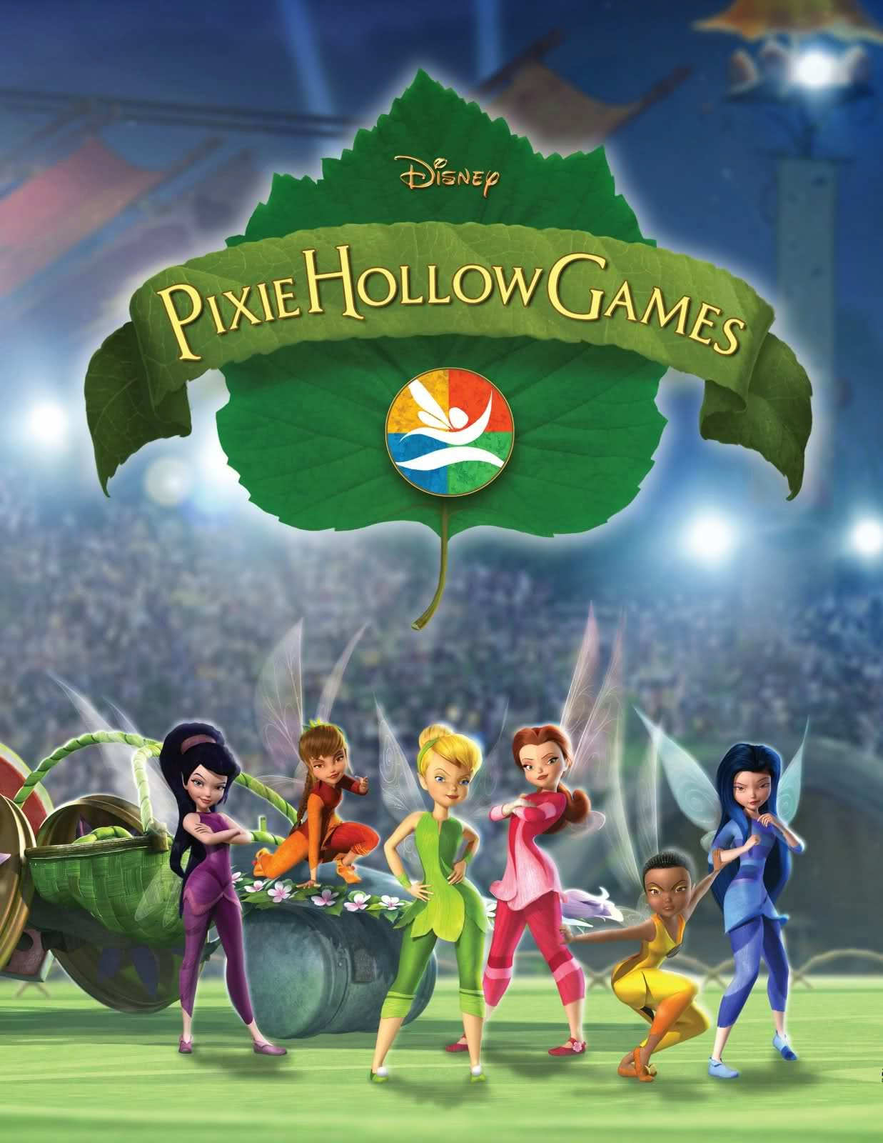 Watch Tinkerbell Pixie Hollow Games (2011) Online For Free Full Movie English Stream