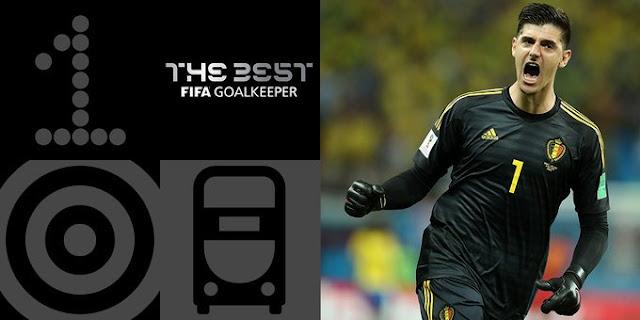 Thibuat Courtois The Best FIFA Goalkeeper Award 2018