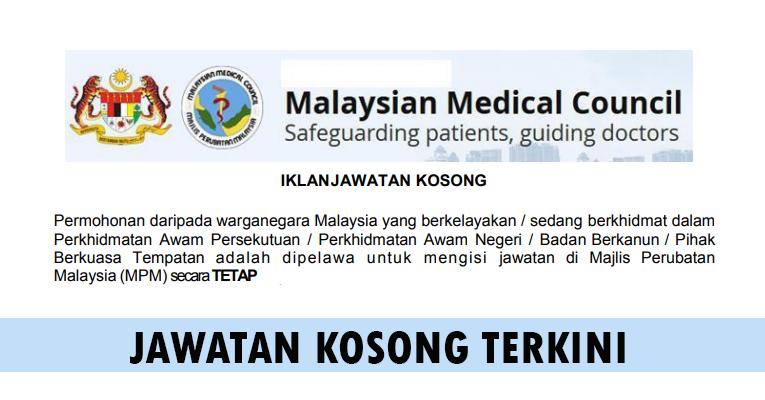 Kekosongan Terkini di Majlis Perubatan Malaysia