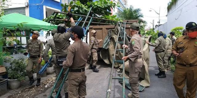 Warung Kopi dan Lapo Tuak di Medan Petisah Ditertibkan