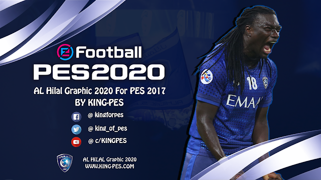 AL Hilal FC Graphic 2020 For PES 2017 By KING PES