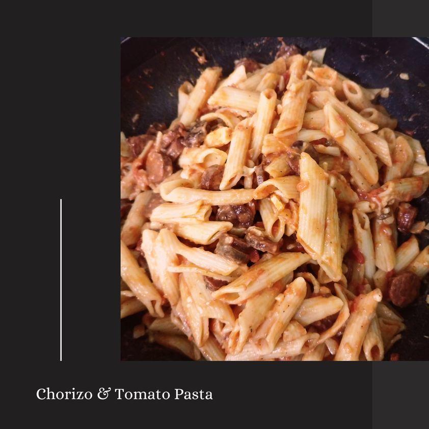 How To Make Chorizo and Tomato Pasta