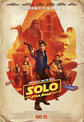 Solo A Star Wars Story IMAX Theatrical One Sheet Movie Poster