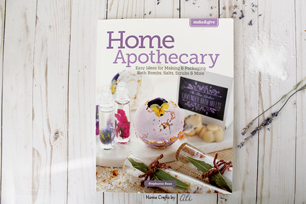 Home Apothecary Book Review bath recipes and beautiful packaging ideas for gifts