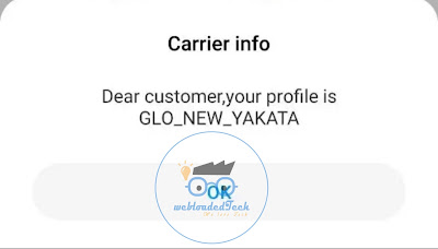 This Unlimited Free Browsing only work on Glo New Yakata