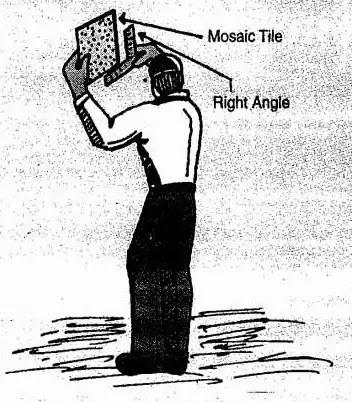 right angle ties checking