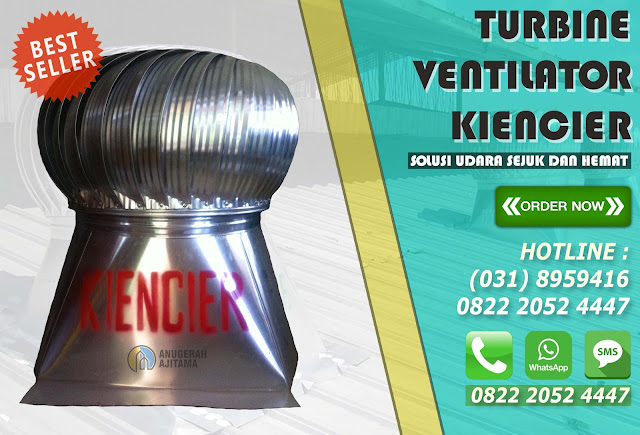 Harga Turbine Ventilator Kiencier