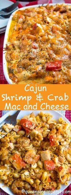 KETO,Cajun Shrimp and Crab Mac and Cheese